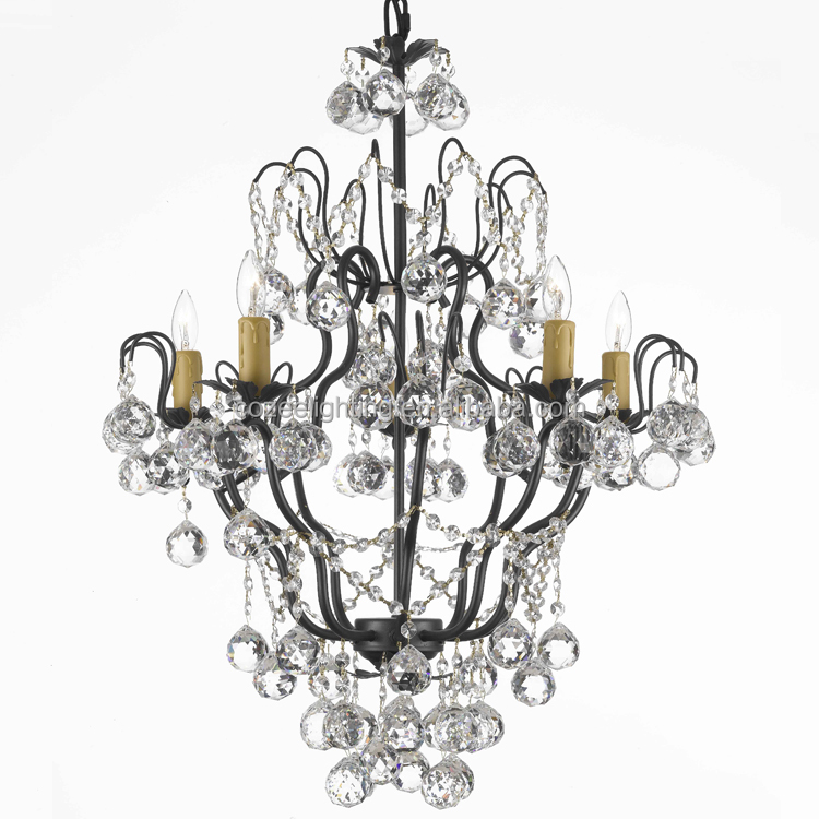 Luxury Modern LED Fixture Crystal Chandelier Pendant Hanging Lamp Light Lighting Made in China CZ2580/5