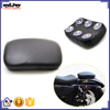 BJ-SC02-883 Rectangular Rear Passenger Pillion Pad Seat 6 Suction Cup for Harley Chopper Cruiser