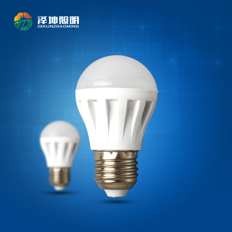 LED Bulb Plastic Lamp 220v 110v cheap 7W E27 LED Bulb, E14 E27 B22 led light