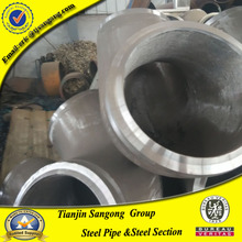 8 inch carbon steel pipe 120 degree galvanized steel elbow