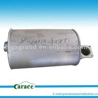 Higer bus parts for KLQ6109 KLQ6129 KLQ6119 Exhaust muffer