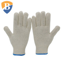 Chinese Supplier Safety Cotton String Knit Soldering Gloves