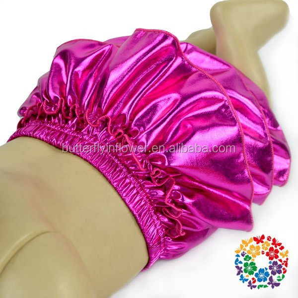 2015 NEW fashion Hot pink Ruffle Bum Baby skirt Bloomers for kids