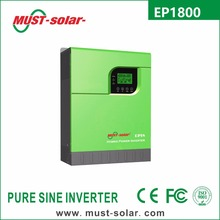 < Must Solar> NEW Arrive ! ! EP1800 series 5kva off grid dc to ac power inverter 48v 230v with battery charger