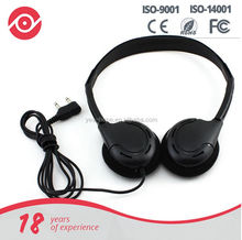 2015 Yes Hope High-end stereo lightweight folding portable headphone for arilines or travel bus