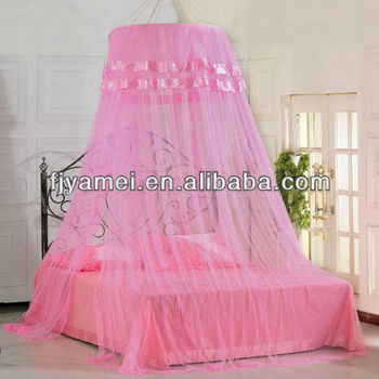 Princess bed net hanging mosquito net for girl buy girl for Pabellon para cama king size