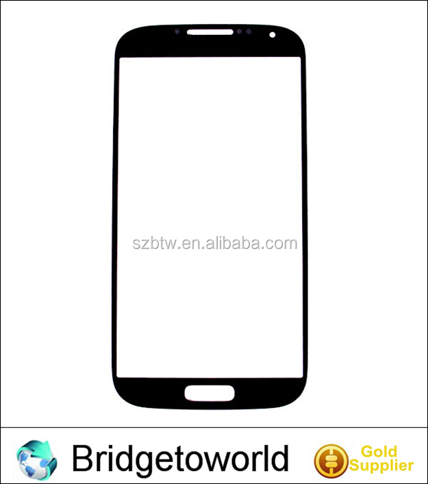 NEW front LCD Touch Screen Glass Outer Lens For Samsung Galaxy S4 i9500