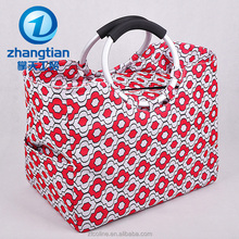 factory supply cheap high quality Customized 600D polyester Foldable Tote Shopping Bag