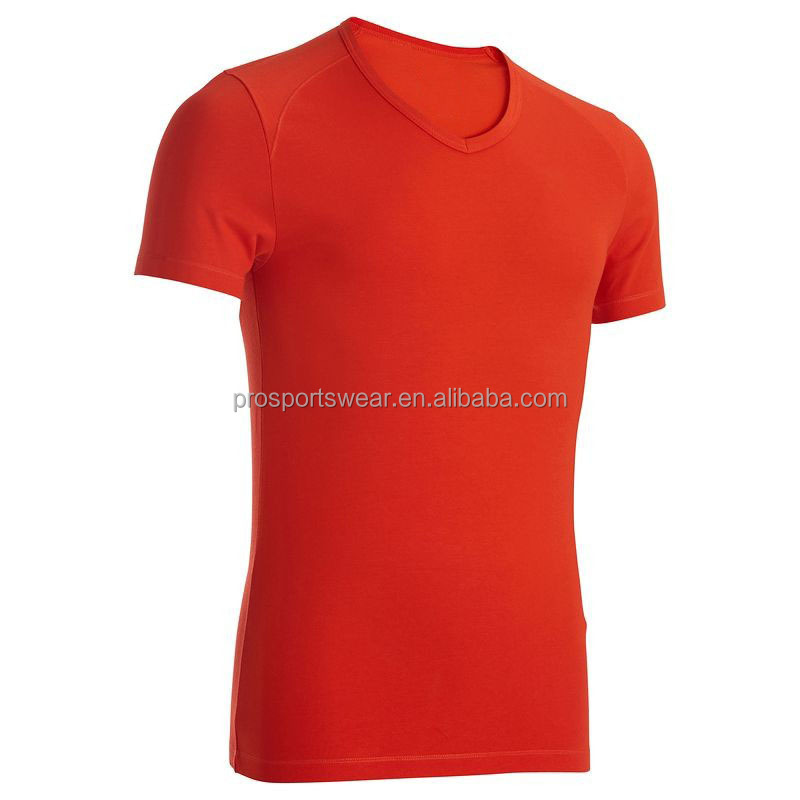 2015 Wholesale Plain Cotton T Shirts Fitness Shirts Polo Shirts for Women