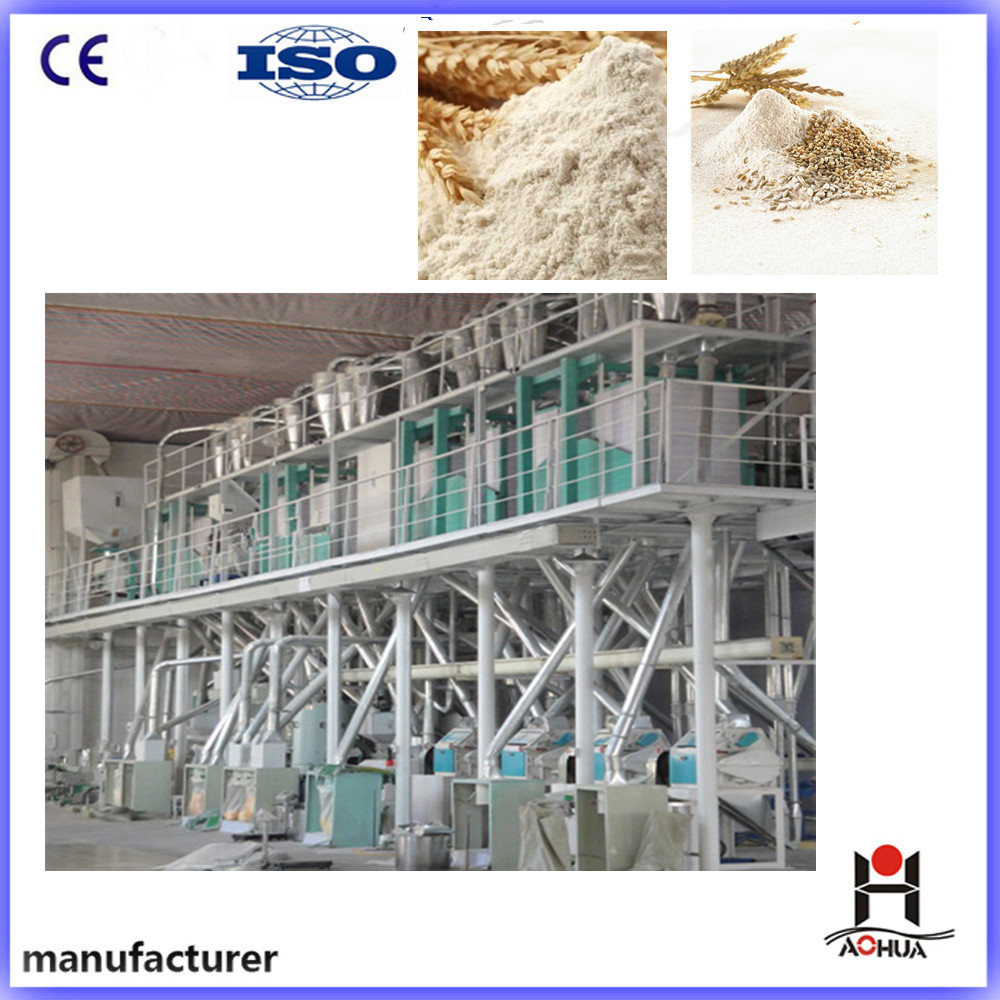 Complete Line Wheat Flour Making Machine for Bread