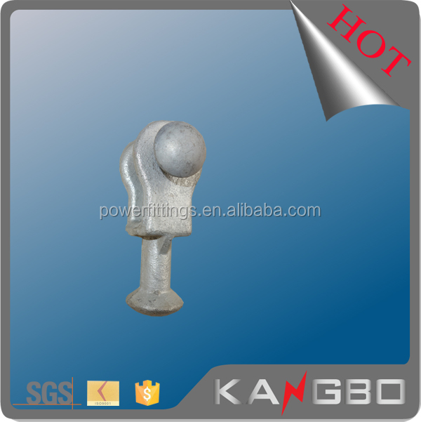 70kn galvanized steel Ball Clevis