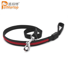 China High Quality Water Resistant USB Rechargeable Polyester Night Safety Led Dog Leash