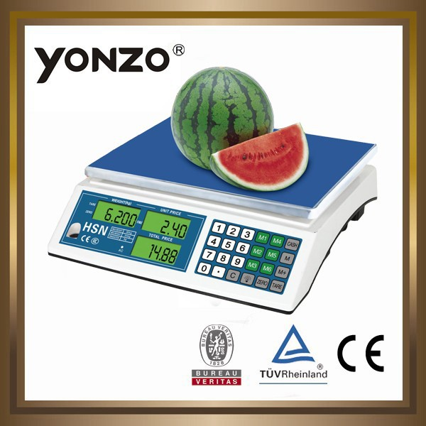 electronic digital scale with tray