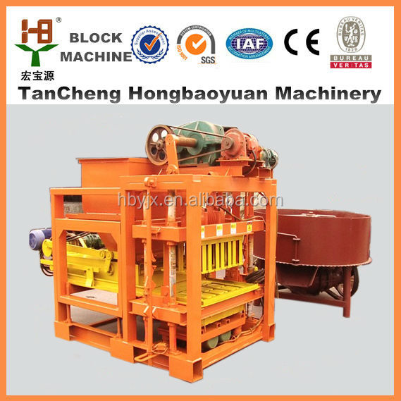 Cement brick block making machine price napal QTJ4-28 Small factory products home business
