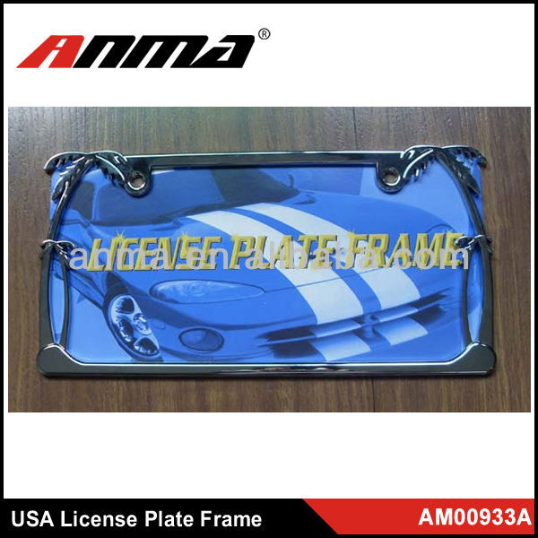 Car auto license plate frame Cover