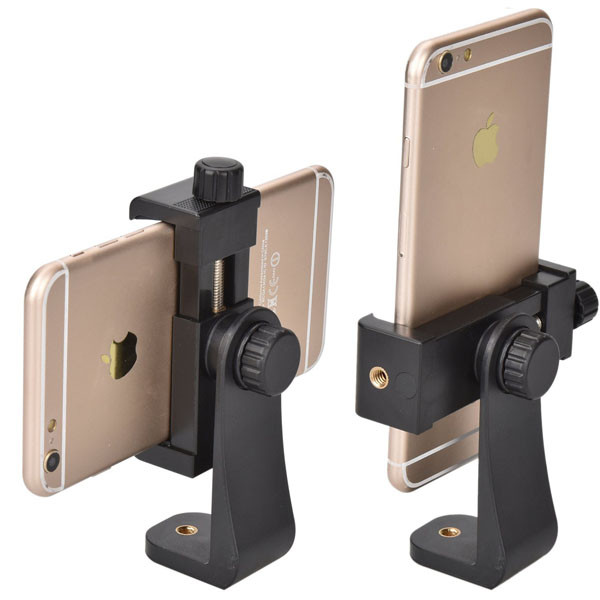 Shop Tech Accessories Cell Phone Tripod Adapter Universal Smartphone Holder Tripod Adapter for all Smartphones