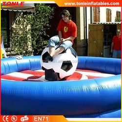 commerical adults Inflatable rodeo football/inflatable simulator rodeo bull
