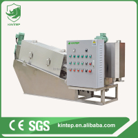 bread and noodle sludge dewatering plant oil water treatment machine