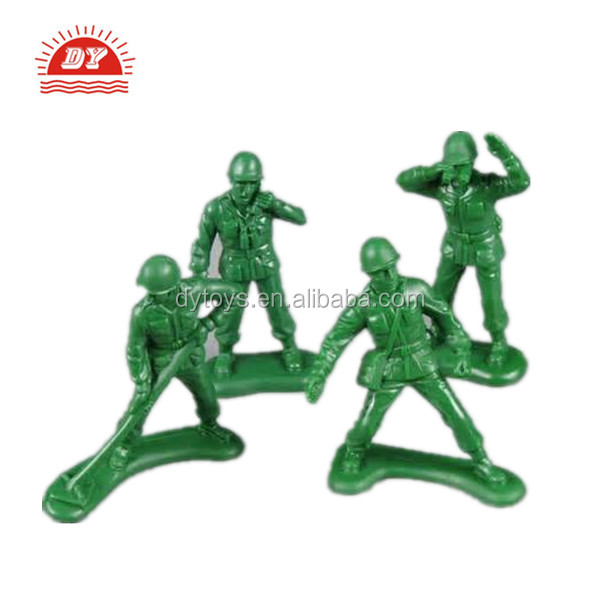 ICTI certificated custom make small toy soldier force figure
