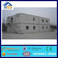 prefabricated steel frame folding shipping container sheet metal houses