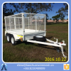 8*5 Box Trailer & Tipper / 600mm Cage Trailer / Box Trailer Galvanised