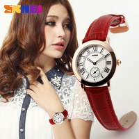 Taobao attractive lady watch two dials wrist watch fantastic design