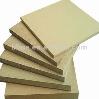 15mm Plain/Laminated Melamine MDF for furniture