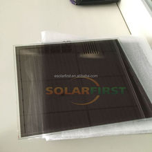 flexible power 40% power CETD thin film solar panel sample