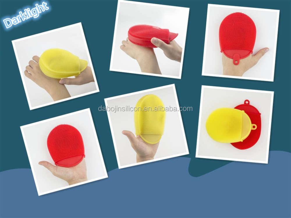 2016 Silicone Massager Products Magic Hand Silicone Bath Gloves To Promote Blood Circulation Device