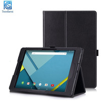 Mix colors Slim Folding Cover Case for Google Nexus 9 8.9 inch tablet case With Smart Cover Auto Wake / Sleep