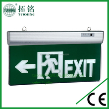 Hot sale led exit sig light /led rechargeable sign light/led home emergency lamps