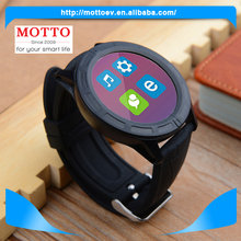 Smart Watch Round Bluetooth Connect With Mobile Phone