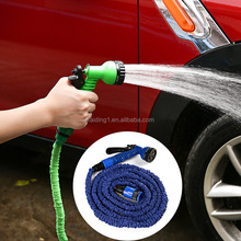 2017 New product best selling Patented expandable garden Hose with brass fitting for car washing