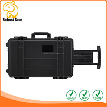 China supplier high quality wheeled tool case with foam