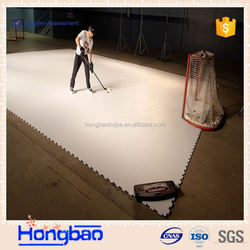 ice hockey fense/artifical ice rink panel/rinking slabs
