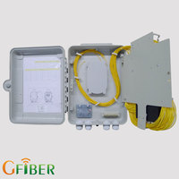 FTTH indoor 16 core splitter ip 66 plastic terminal boxes