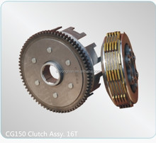 Motorcycle Engine Parts Clutch Assy. 16T CG150