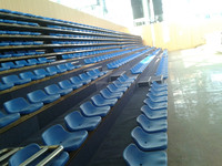 Impact resistance, heat resistance Activity plastic chair seats