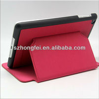 Newest dormancy function tablet case cover with stand for mini ipad &ipad mini