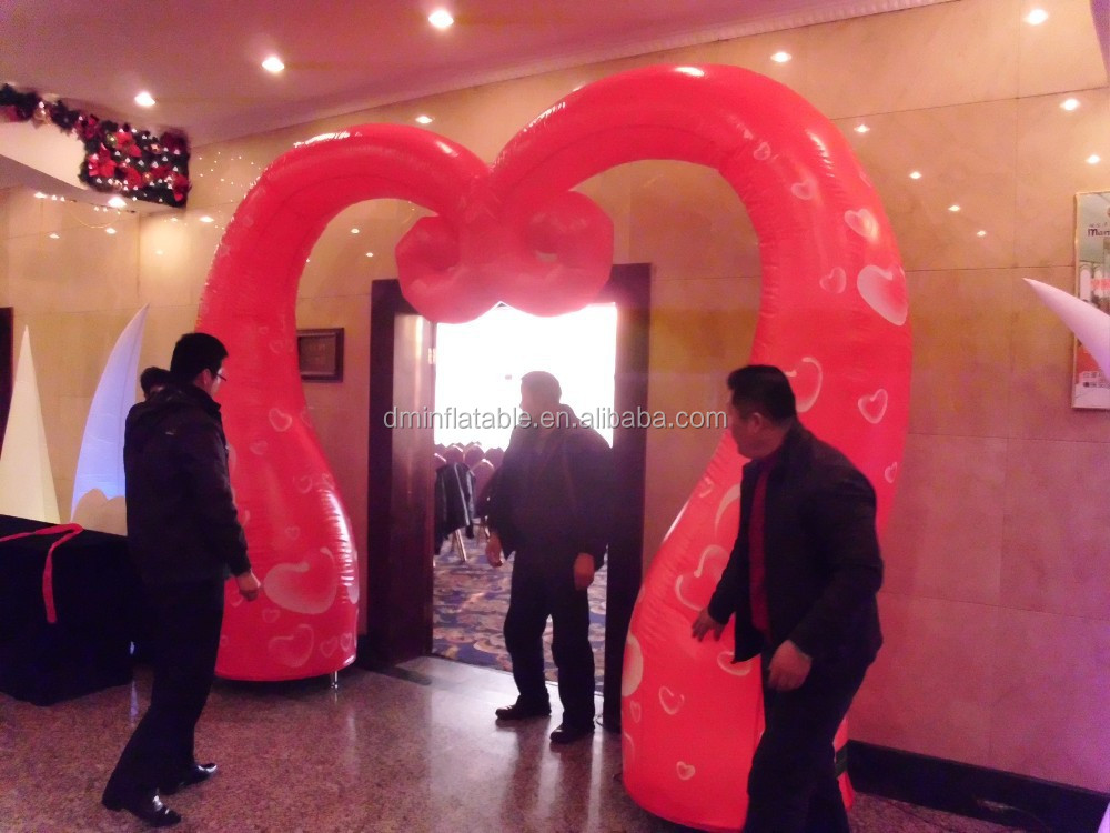 wedding inflatable columns used wedding decorations for indoors
