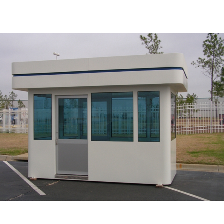 High quality security house mobile sentry box for guard office