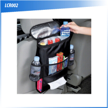 (F0506) High quality Car seat storage bag / car seat back pocket / auto back seat hanging bag