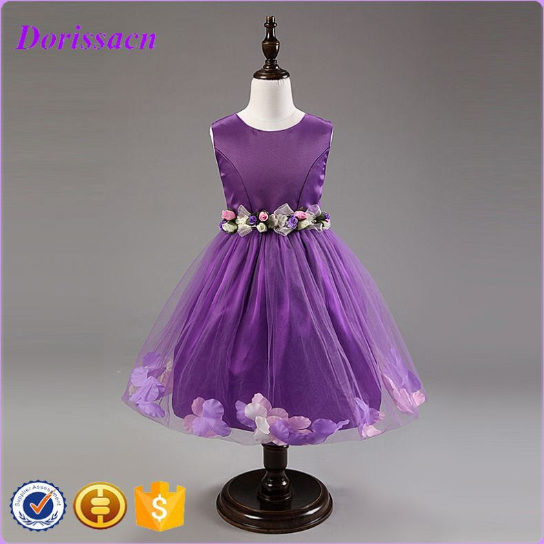 cotton sleeping wear baby girls' night mini dresses bridesmaid dress kids cute halloween decoration