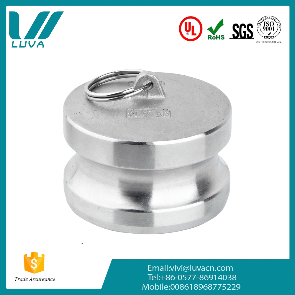 Professional manufacture free customized 1/2 to 6 inches stainless steel polished couplings