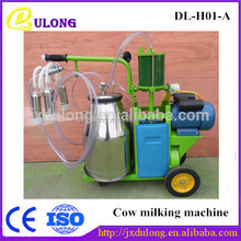 Crazy Sale poultry fram use portable DL-H01-A Single Cow Milking Machine Kenya price on sale for cow milk