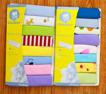 100% Cotton Material Cotton Baby Small Handkerchiefs