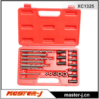 25 PCS Screw Extractor/ Drill and guide kit motorcycle tool pack