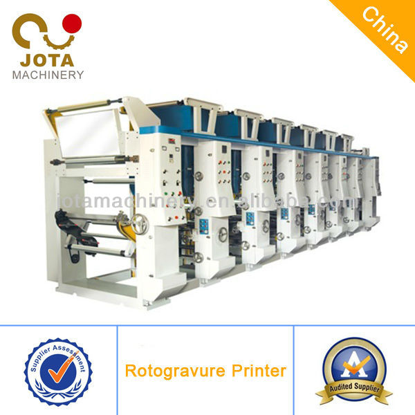 Plastic Film Roll Printing Machine for Cups