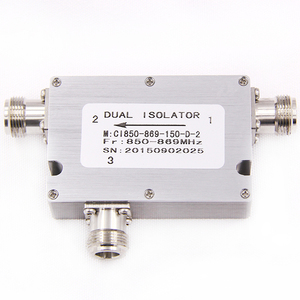 hot sale low pim din 850-869mhz coaxial ethernet optical rf circulator isolator