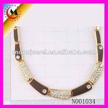 2012 MOON JEWELRY FASHION SECTIONS ALLOY NECKLACE FOR MEN